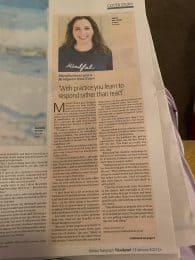 Article on Bridgeen as 'Super Tutor' in the Belfast Telegraph