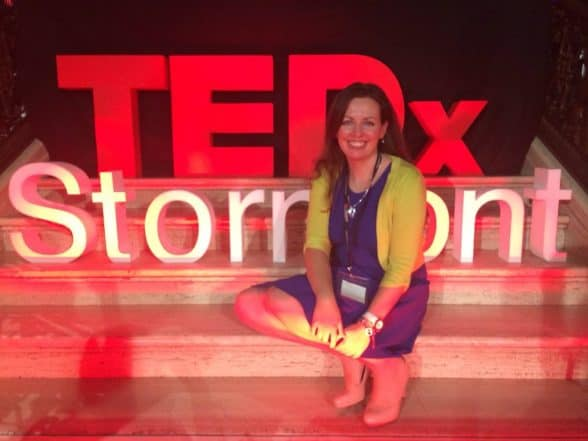 Me at TEDx Stormont