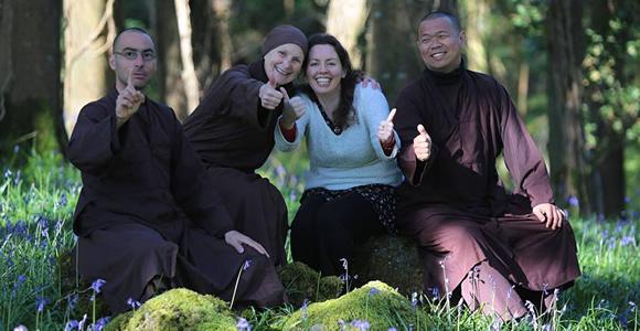 me with monastics