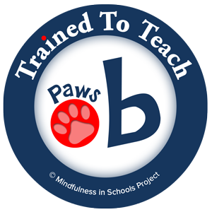 I trained to teach Paws be in Edinburgh, July 2016