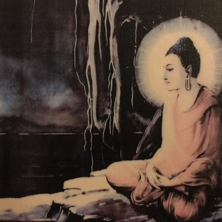 buddha sitting in meditation