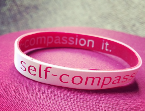 pic of self compassion braclet